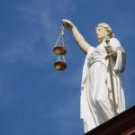 Iustitia als Sinnbild der Gesetzgebung