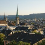 Blick über die Zürcher Altstadt